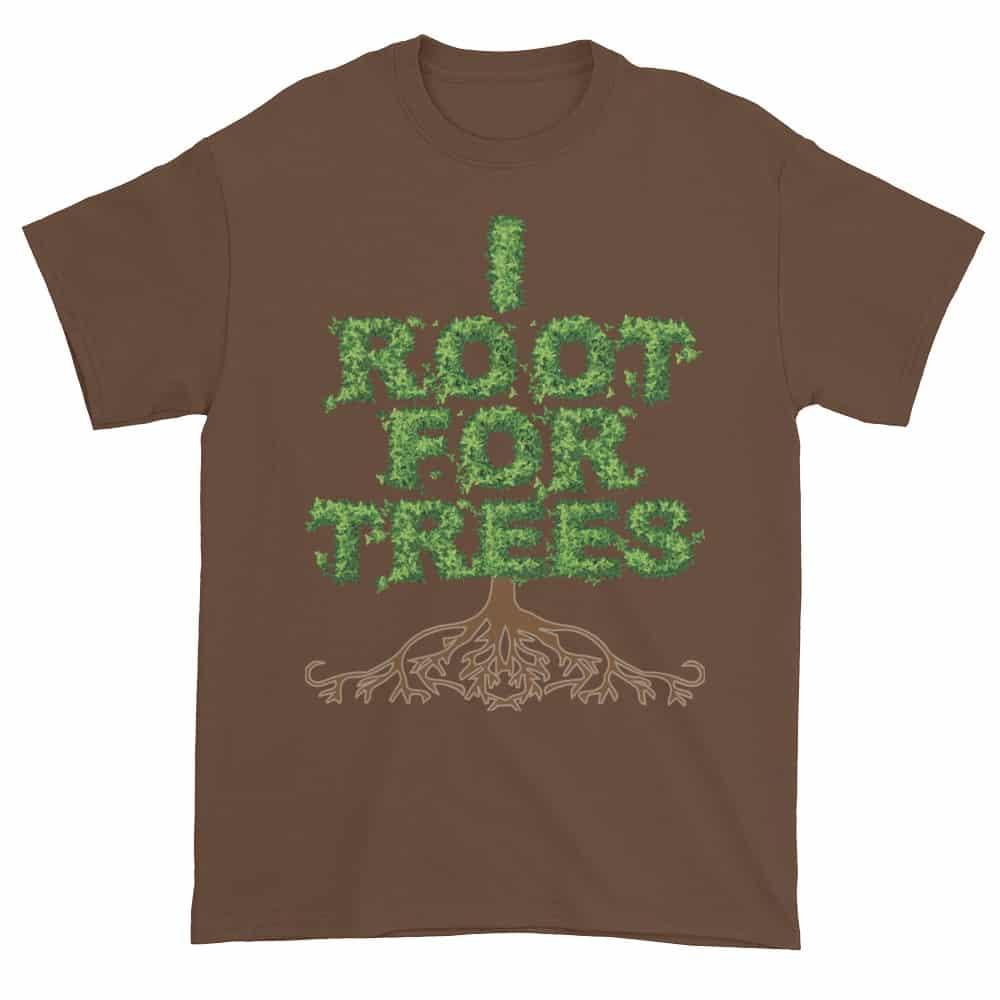 I Root for Trees T-Shirt (chestnut)