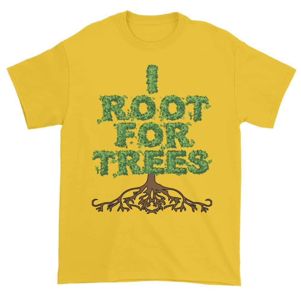 I Root for Trees T-Shirt (daisy)