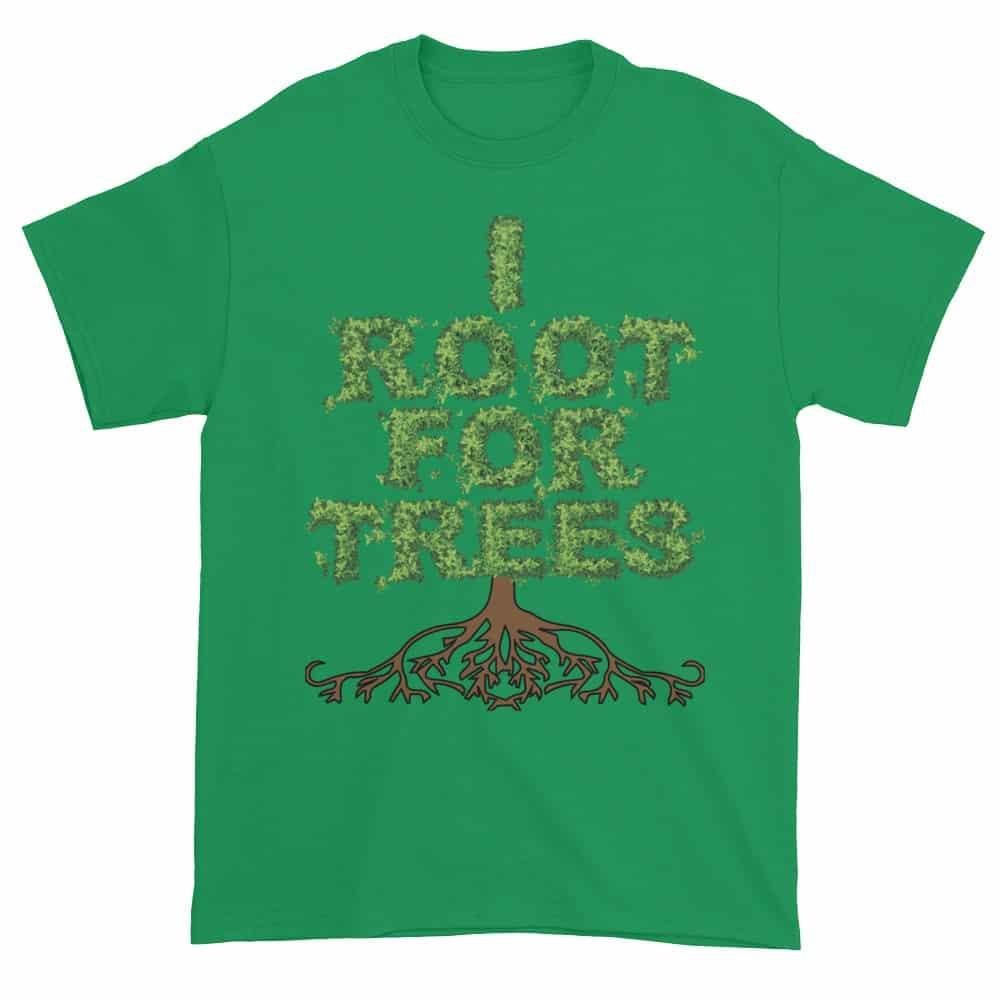 I Root for Trees T-Shirt (shamrock)