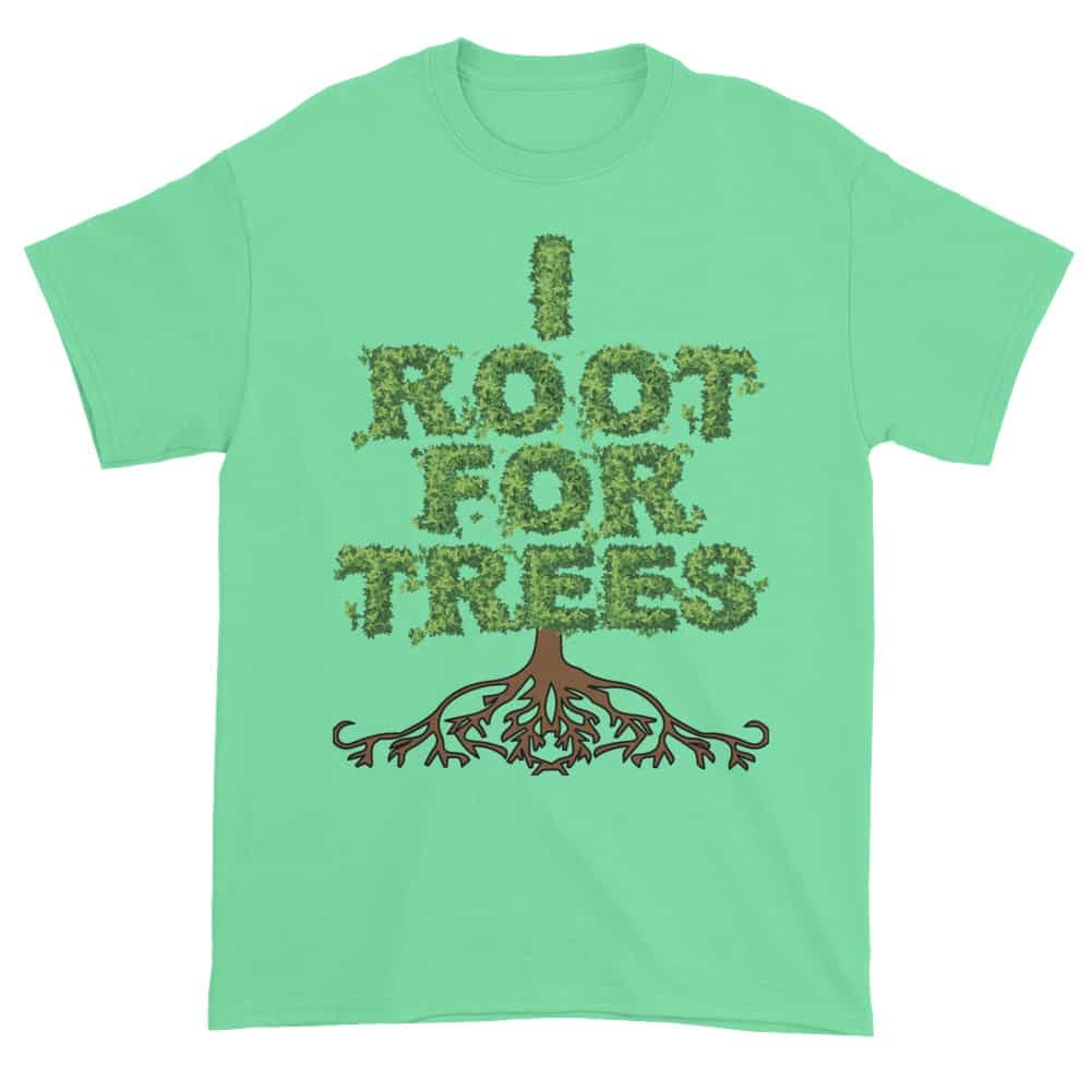 I Root for Trees T-Shirt (mint)