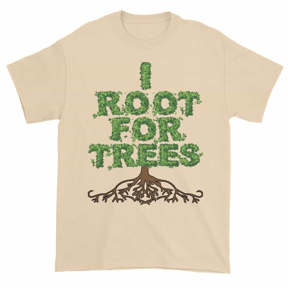 I Root for Trees T-Shirt (natural)