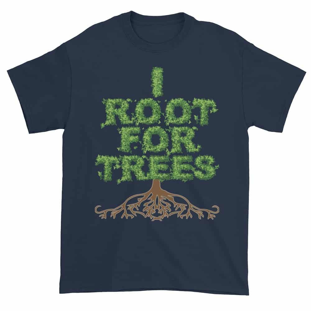 I Root for Trees T-Shirt (navy)