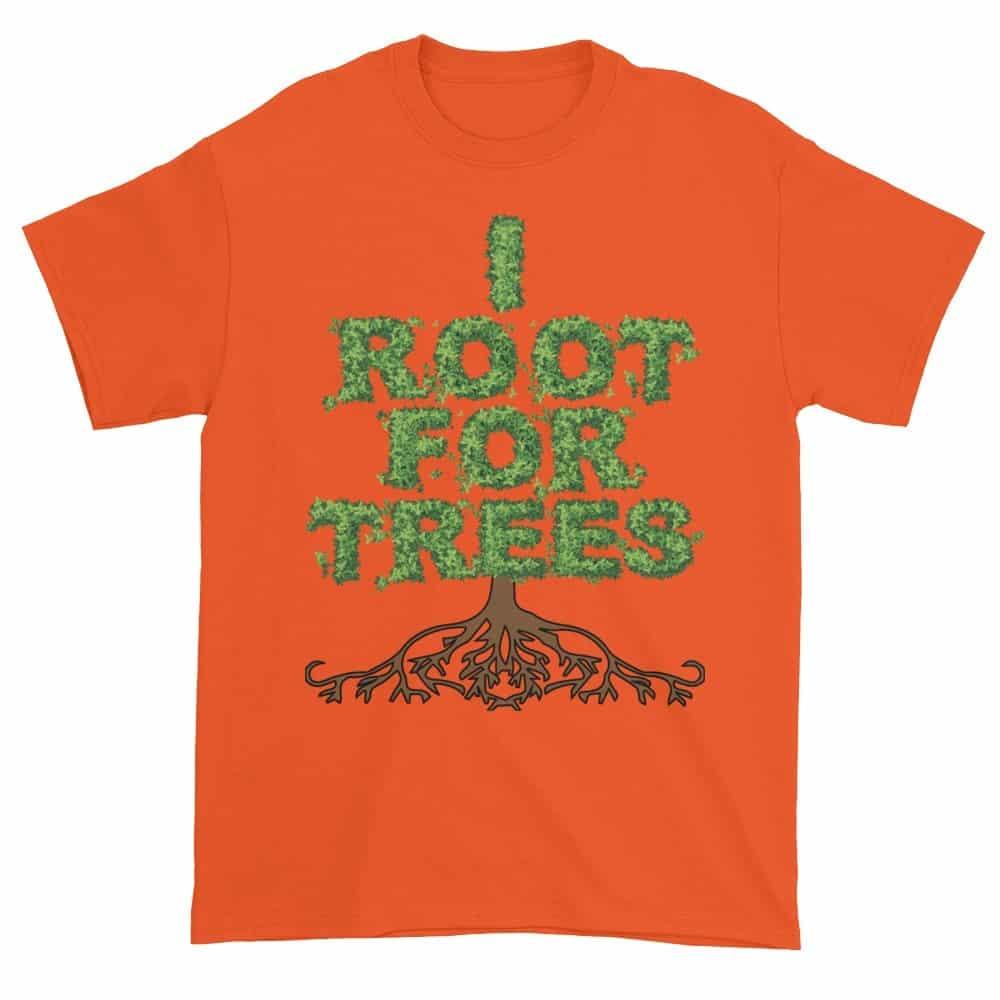 I Root for Trees T-Shirt (orange)