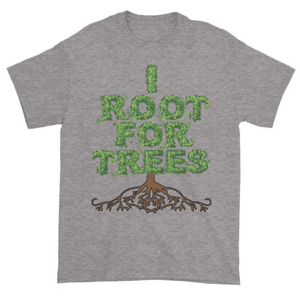 I Root for Trees T-Shirt (slate)