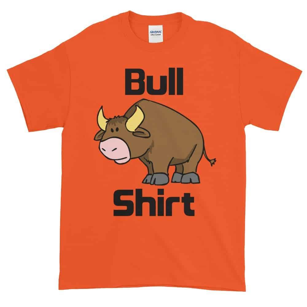 Bull Shirt T-Shirt (orange)
