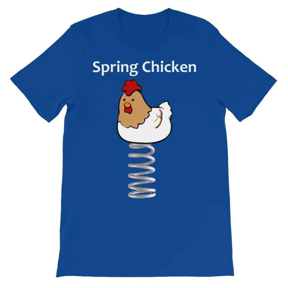 Spring Chicken T-Shirt (royal)