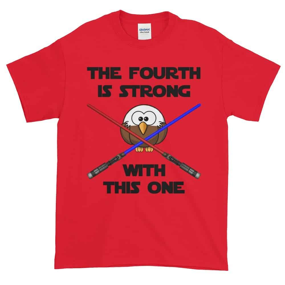 The Fourth is Strong T-Shirt (red)