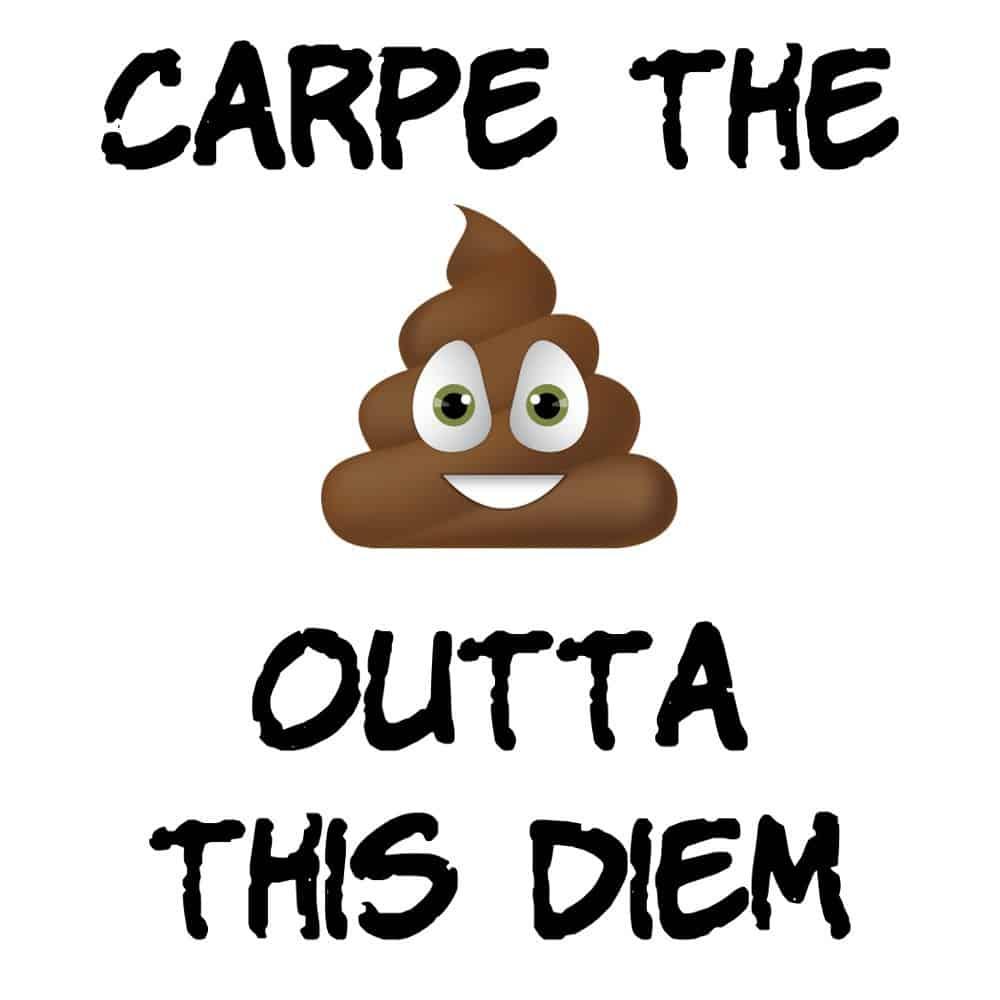 Carpe the Poop Outta This Diem