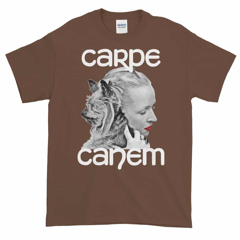 Carpe Canem T-Shirt (chestnut)