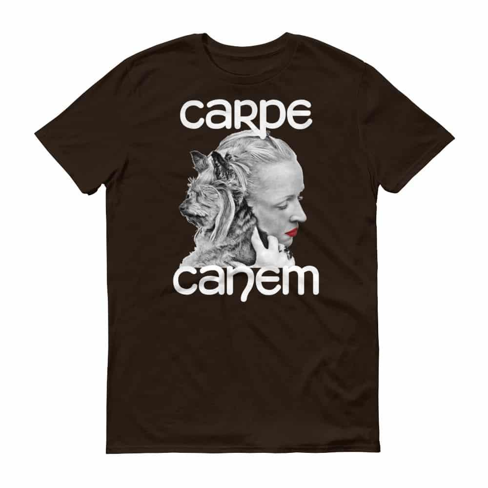 Carpe Canem T-Shirt (chocolate)
