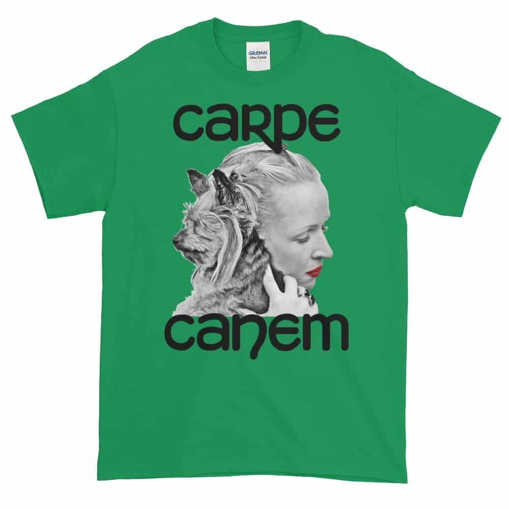 Carpe Canem T-Shirt (shamrock)