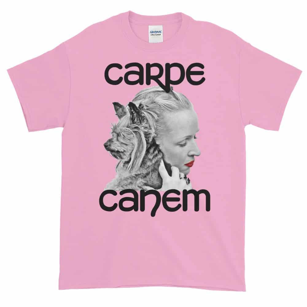 Carpe Canem T-Shirt (pink)