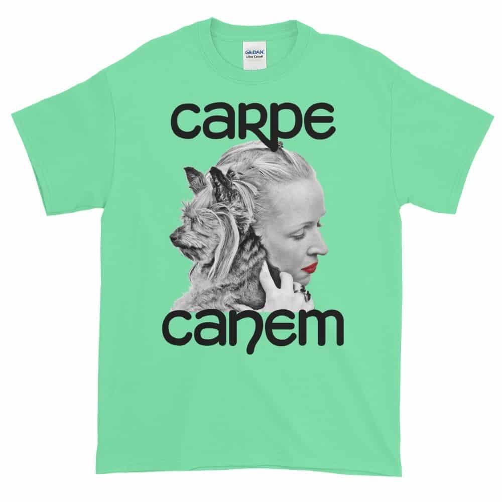 Carpe Canem T-Shirt (mint)