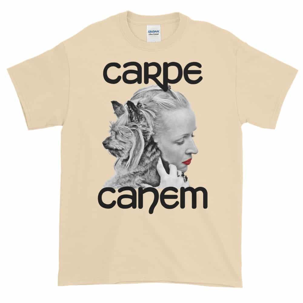Carpe Canem T-Shirt (natural)