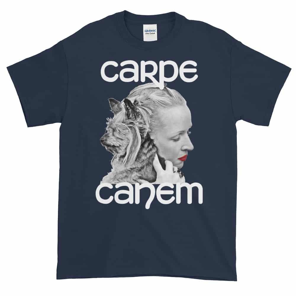 Carpe Canem T-Shirt (navy)