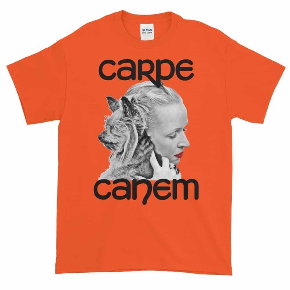 Carpe Canem T-Shirt (orange)