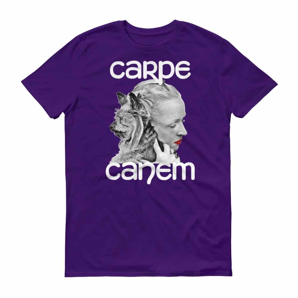 Carpe Canem T-Shirt (purple)