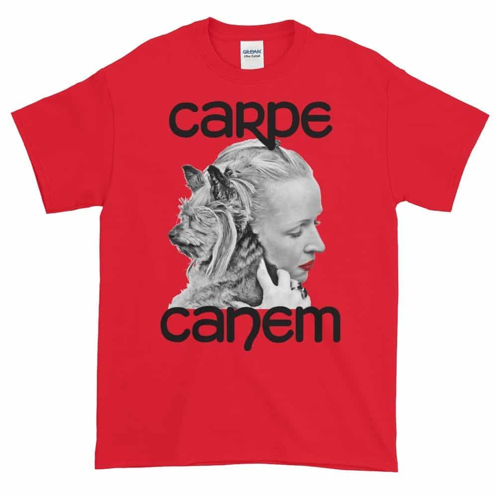 Carpe Canem T-Shirt (red)