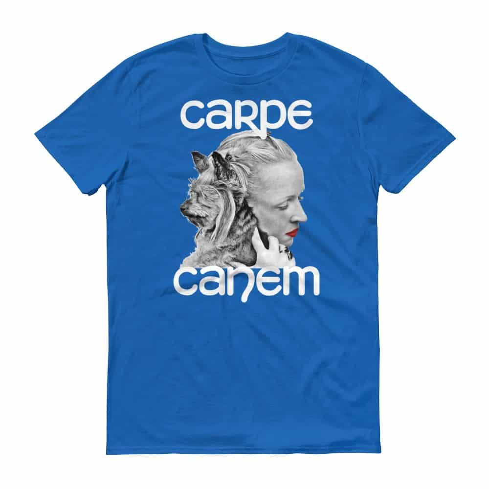 Carpe Canem T-Shirt (royal)
