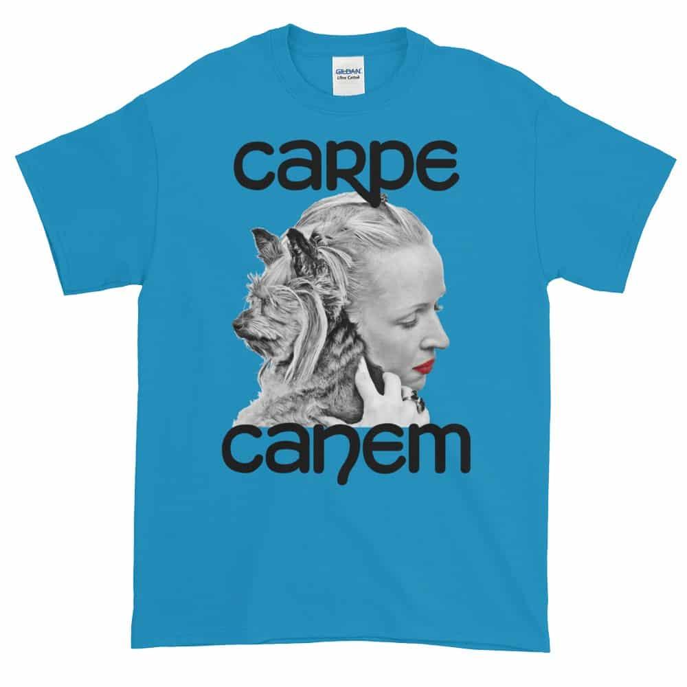 Carpe Canem T-Shirt (sapphire)