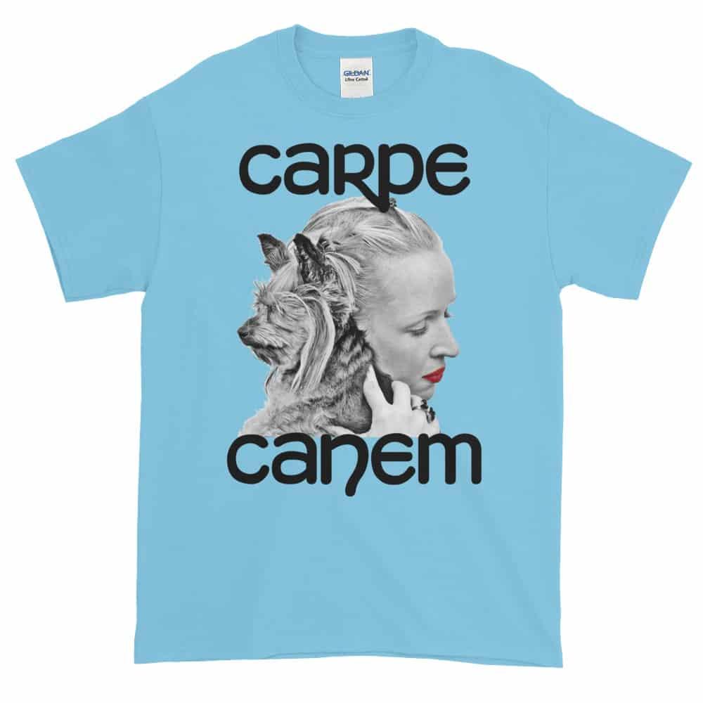 Carpe Canem T-Shirt (sky)