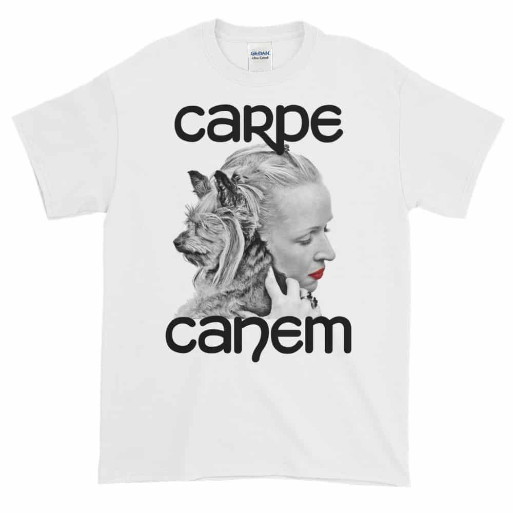 Carpe Canem T-Shirt (white)