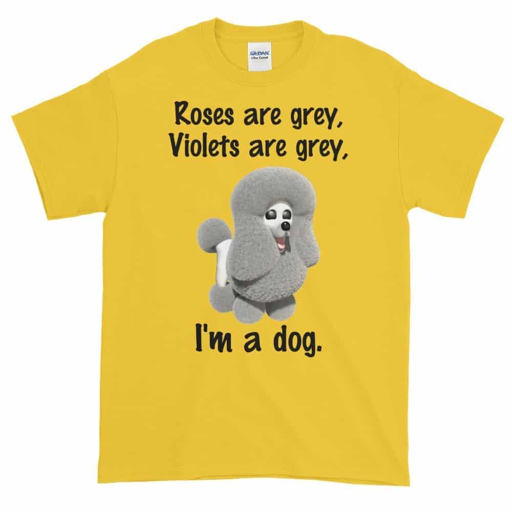 Roses are Grey T-Shirt (daisy)
