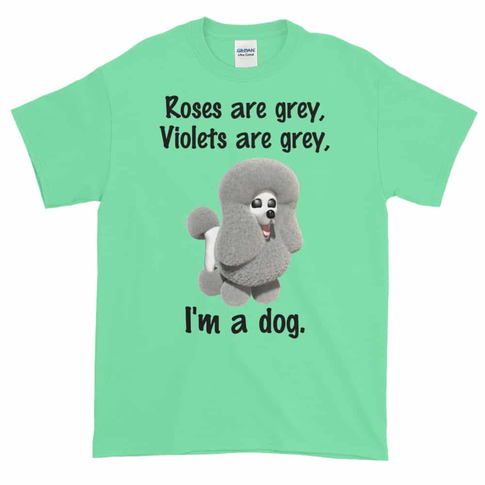 Roses are Grey T-Shirt (mint)