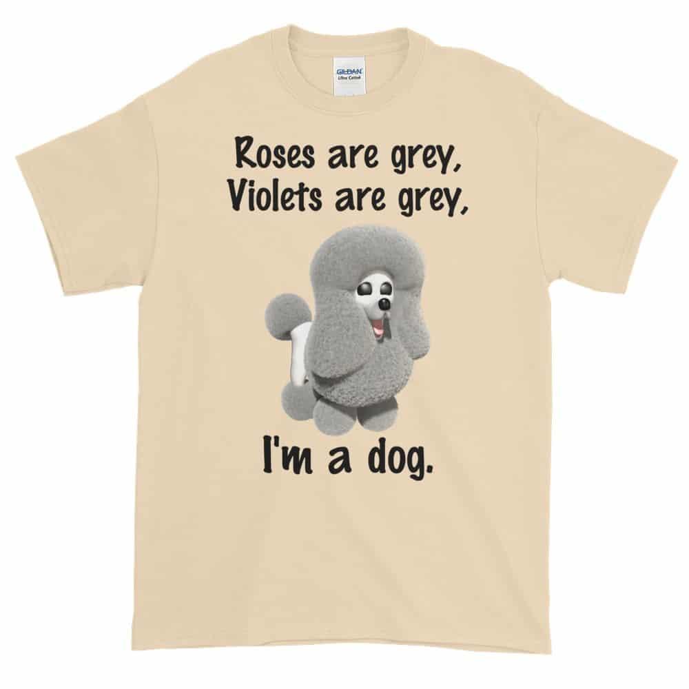 Roses are Grey T-Shirt (natural)