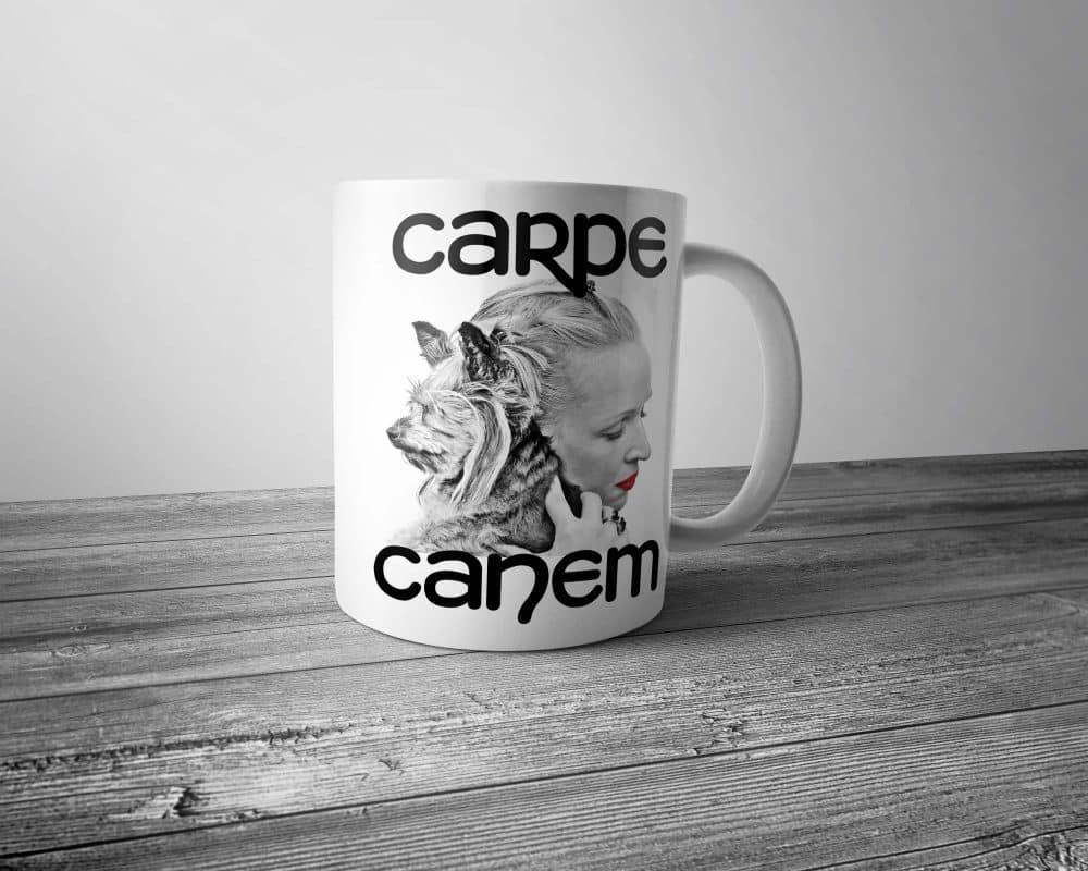 Carpe Canem Mug