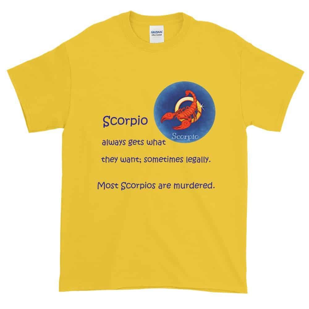 Scorpio T-Shirt (daisy)