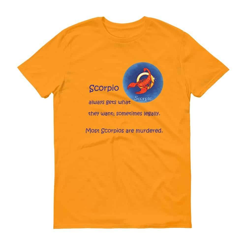 Scorpio T-Shirt (tangerine)