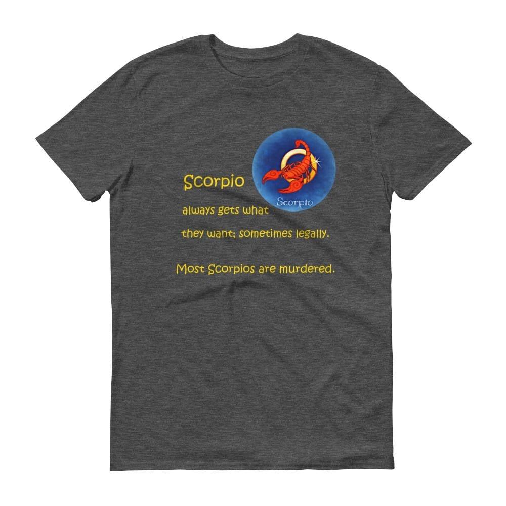 Scorpio T-Shirt (smoke)