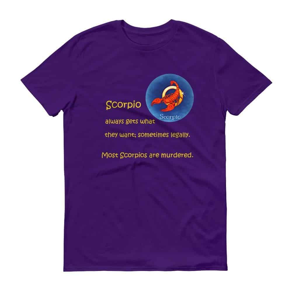 Scorpio T-Shirt (purple)