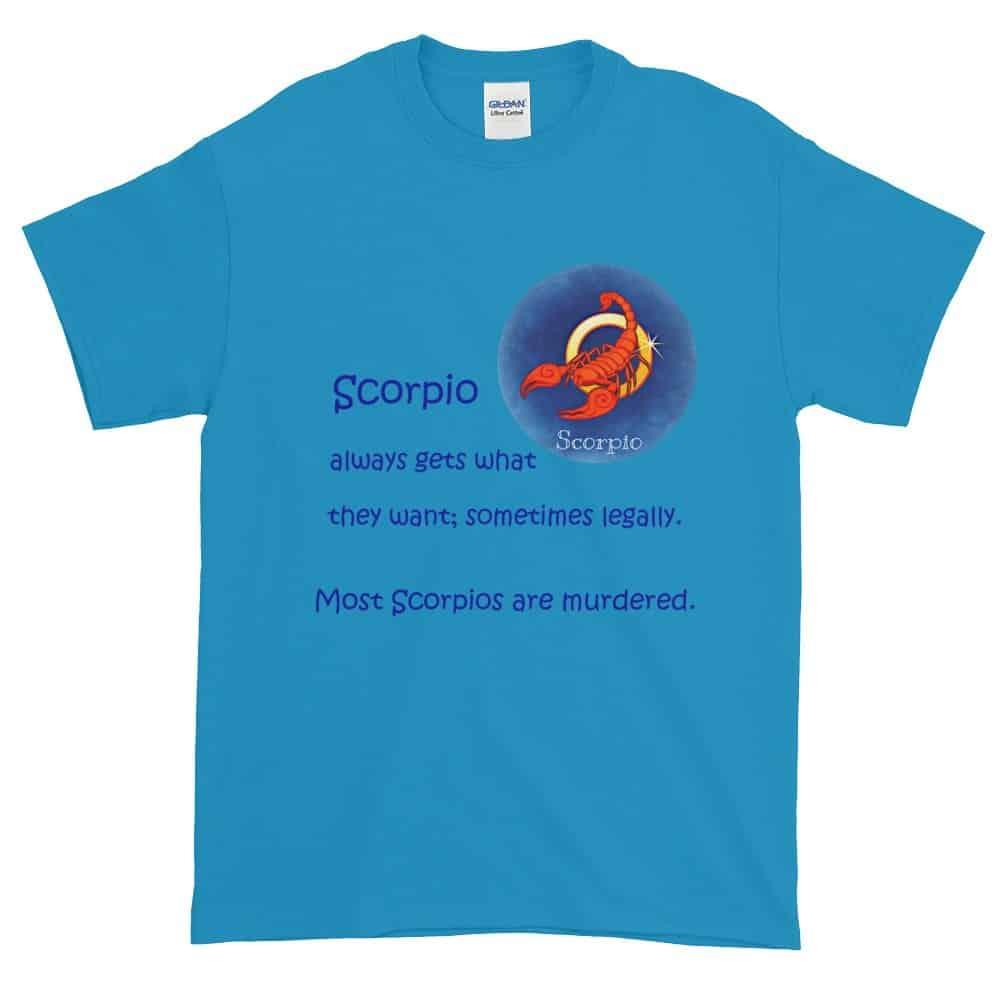 Scorpio T-Shirt (sapphire)