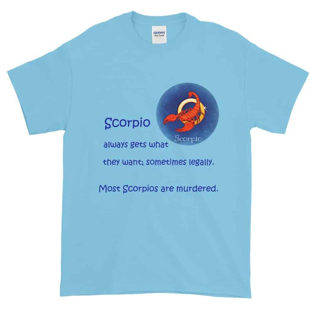 Scorpio T-Shirt (sky)