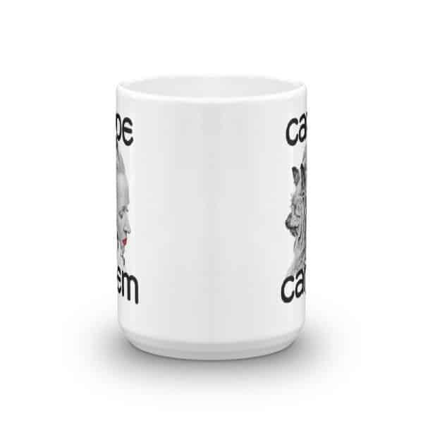 Carpe Canem Mug - 15 front