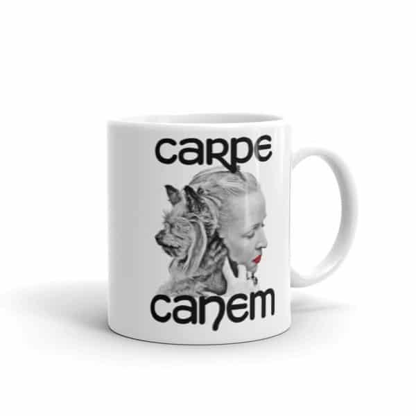 Carpe Canem Mug - 11 right