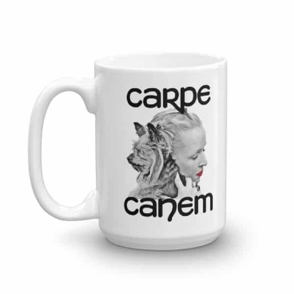 Carpe Canem Mug - 15 left