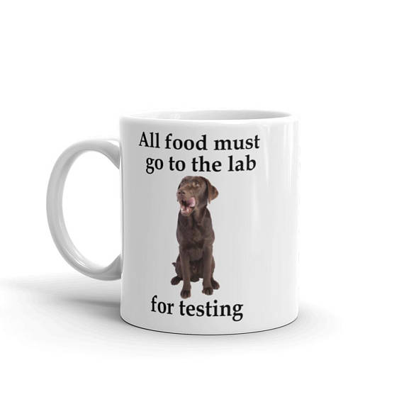 All Food Must Go to the Lab Mug - 11 left
