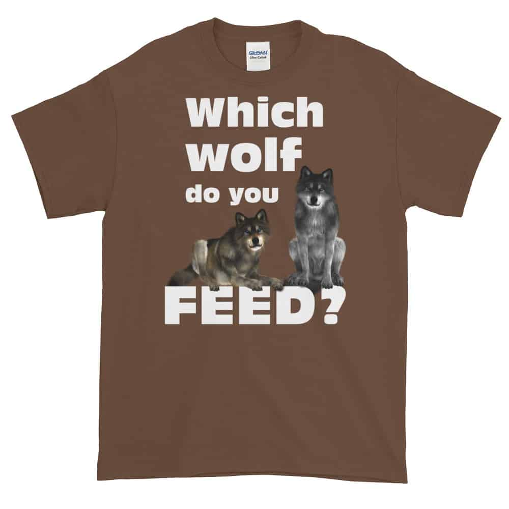 Which Wolf do you Feed T-Shirt