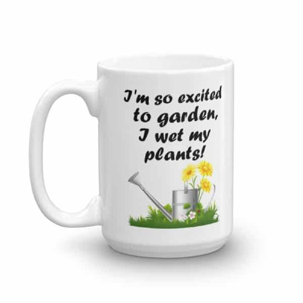 I Wet My Plants Mug