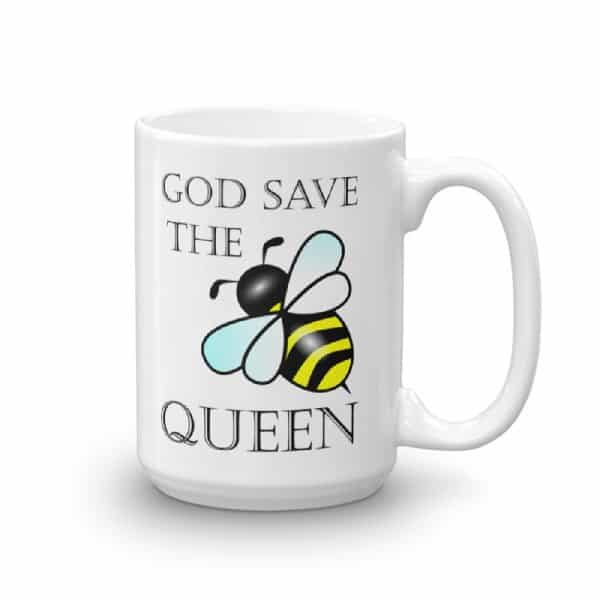 God Save the Queen Bee Mug