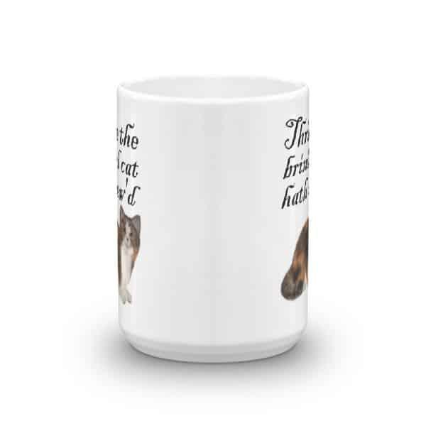 Thrice the Brinded Cat Hath Mew'd Mug