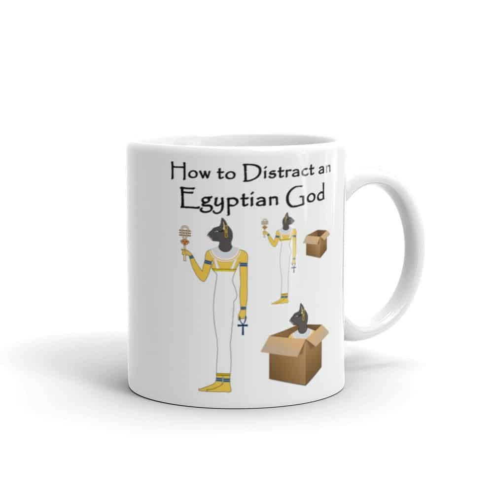 How to Distract an Egyptian God Mug