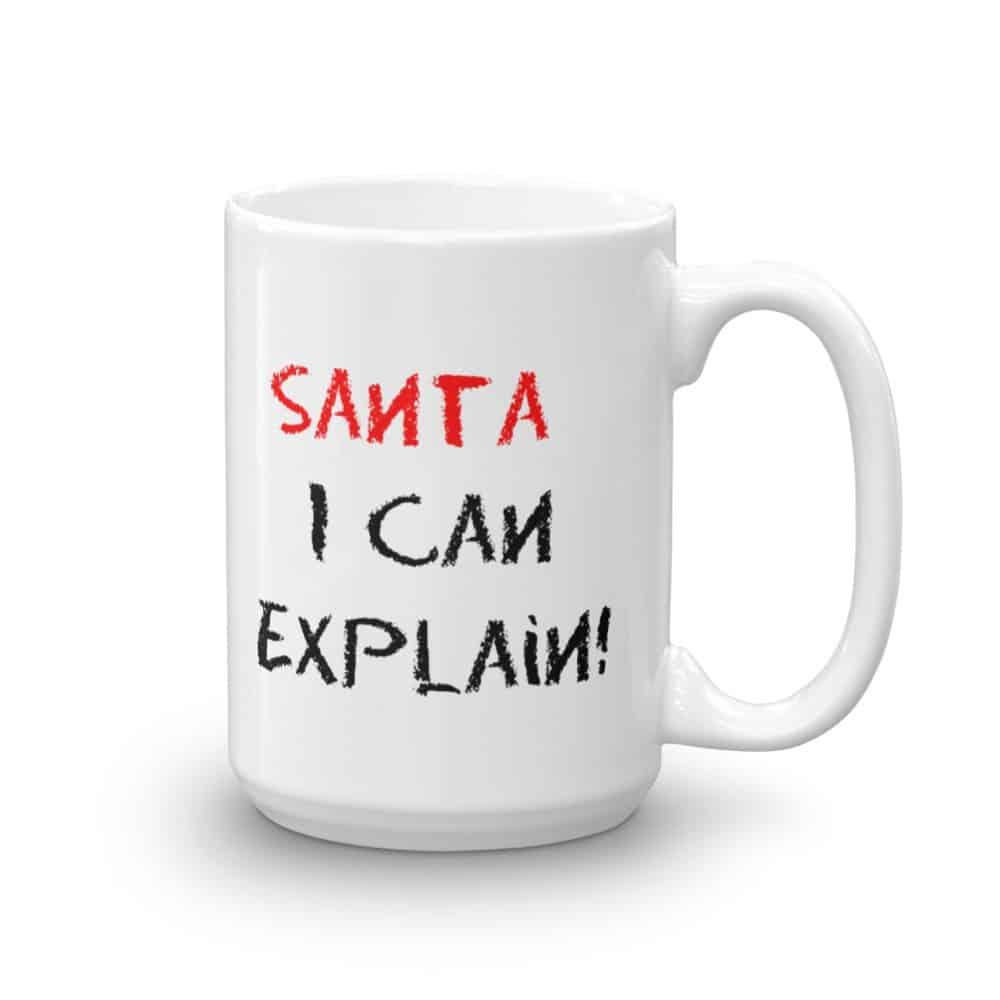 Santa I Can Explain Mug