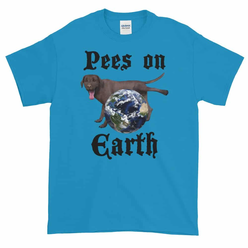Pees on Earth T-Shirt (Unisex)