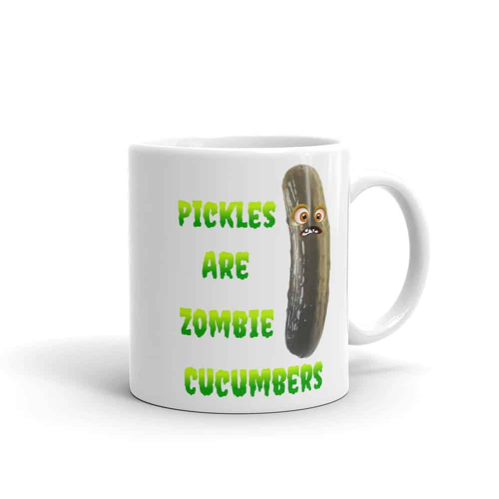 Pickles are Zombie Cucumbers Mug