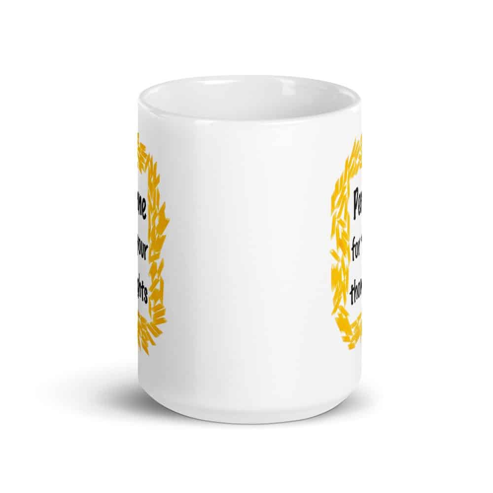 Penne for Your Thoughts Mug
