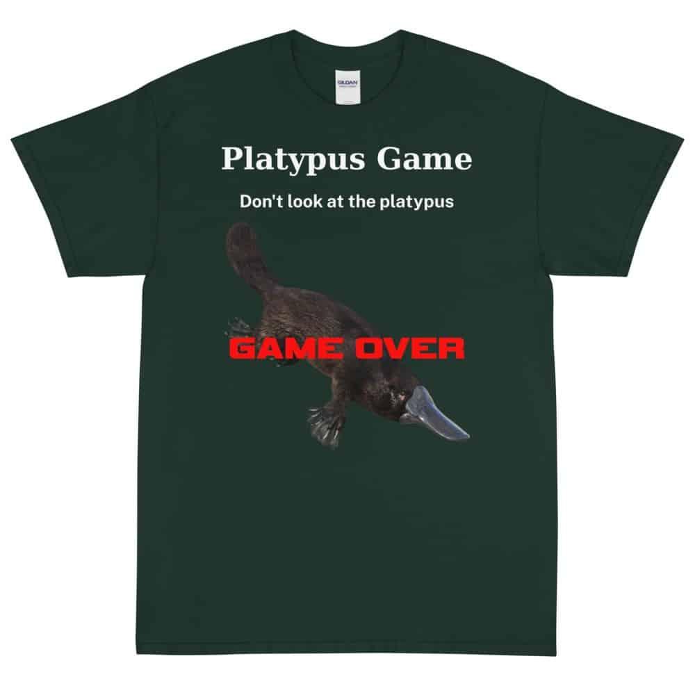 Platypus Game T-Shirt (Unisex)